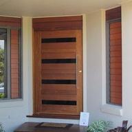 modern front doors b...