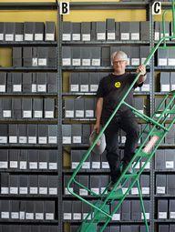 Film archivist Rick