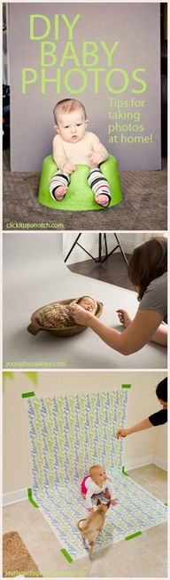 DIY Baby Photos
