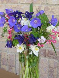 Bouquet created from