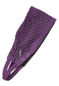 purple mesh headwrap
