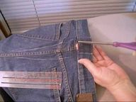 Fitted Jeans Waist