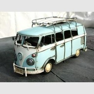 Handpainted tin VW c
