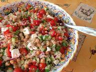 Salad with fresh ing