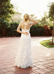 Reem Acra wedding dr