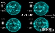 Sunspot AR1748 has a