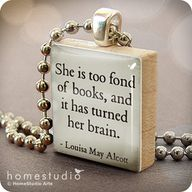 """She is too fond of"