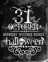 Halloween Free Print