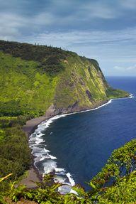Waipiʻo Valley on th