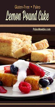 Easy pound cake reci
