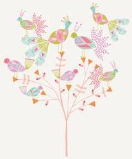 Spring Birds Art Pri