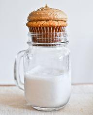 brown sugar cupcakes …