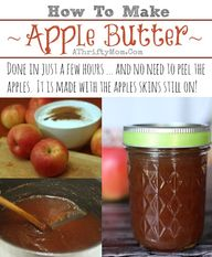 Apple Butter Recipe,