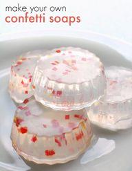 Cutest Confetti Soap