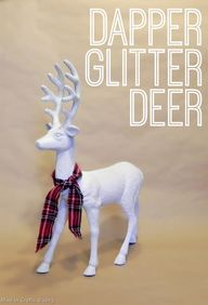 Dapper Glitter Deer-