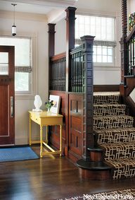 Entrance, Interior