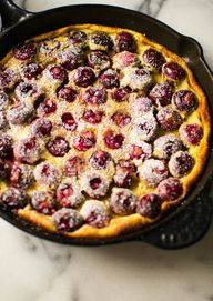 Black Cherry Clafout