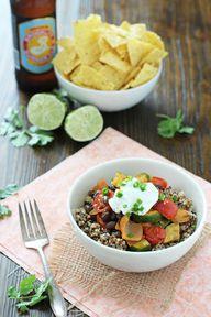 Quinoa and Roasted V
