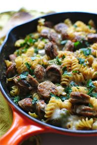 Skillet Pasta with C