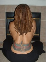 An tatoo of the Egyp...