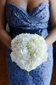 White hydrangea bouq