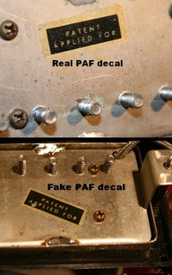 Real and fake PAF pi