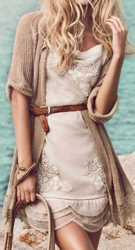Cute lace dress with...