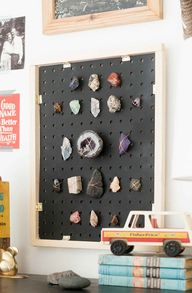 DIY rock collection
