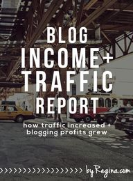 Blog Income and Traf