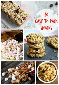30 Easy to Pack Snac