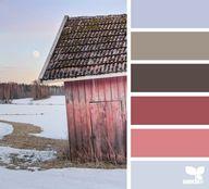 Winter Barn - Septem