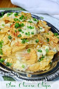 Blue Cheese Chips |