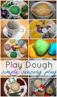 Play Dough Activitie