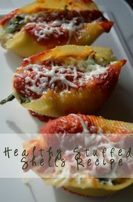 Healthy Stuffed Shel