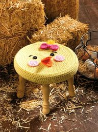 Farm Animals Stool: