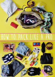 How To Pack Like A P