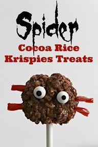 Spider Rice Krispies