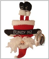 a bungy jumping Sant