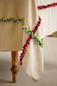 Pom Pom Table Linen