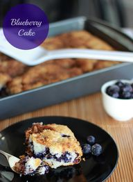 Blueberry Cake – a F