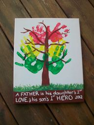 Crafts for Daddy fro