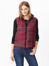 Fall Plaid Vest