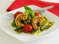 Paleo Shrimp & Pesto