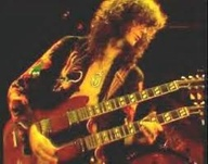 "Jimmy Page and his double neck Gibson ... even though, he played my most favorite guitar of all - Fender Telecaster - on the recording of ""Stairway to Heaven"" ..."