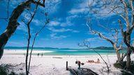 Whitehaven Beach, Au