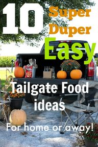 10 Easy Tailgating F