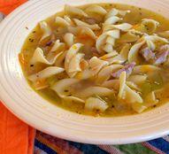Turkey Noodle Soup {