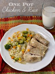 Chicken and Rice Rec