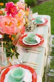 Pink and Mint Backya