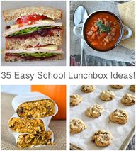 35 Easy School Lunch